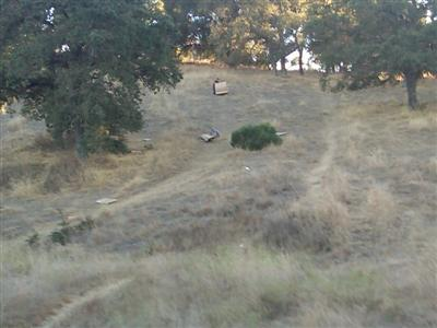 "Sliding down ""cardboard hill"" at Belgatos Park in the Belwood neighborhood of Los Gatos."