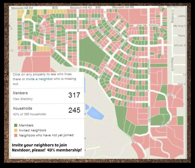 Nextdoor map as of Nov 17 2013