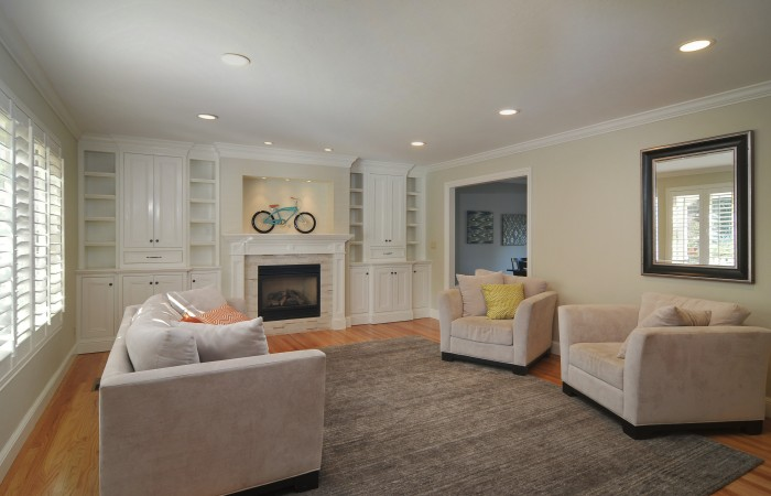 005 Living Room 700x450 - Exquisitely remodeled home & yard for sale in Belwood - 127 Belhaven Drive