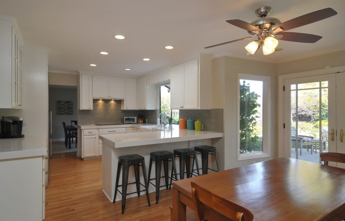 008 Kitchen 3 700x450 - Exquisitely remodeled home & yard for sale in Belwood - 127 Belhaven Drive