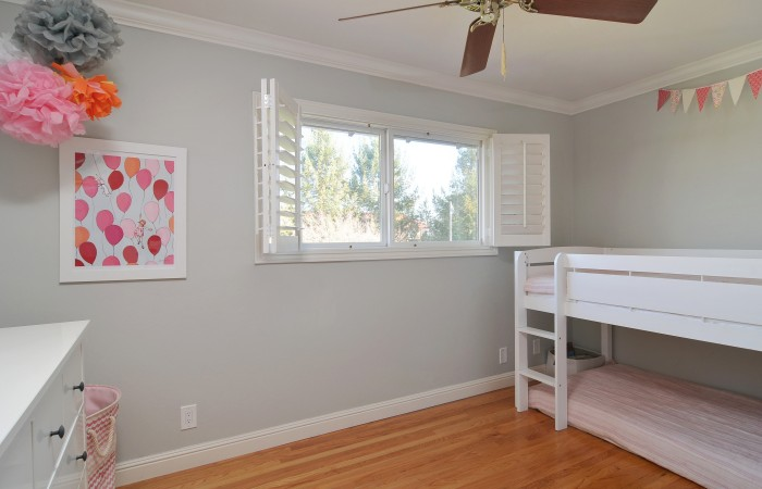 019 Bedroom 3 700x450 - Exquisitely remodeled home & yard for sale in Belwood - 127 Belhaven Drive