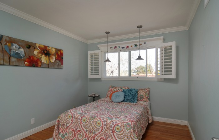 021 Bedroom 4 700x450 - Exquisitely remodeled home & yard for sale in Belwood - 127 Belhaven Drive