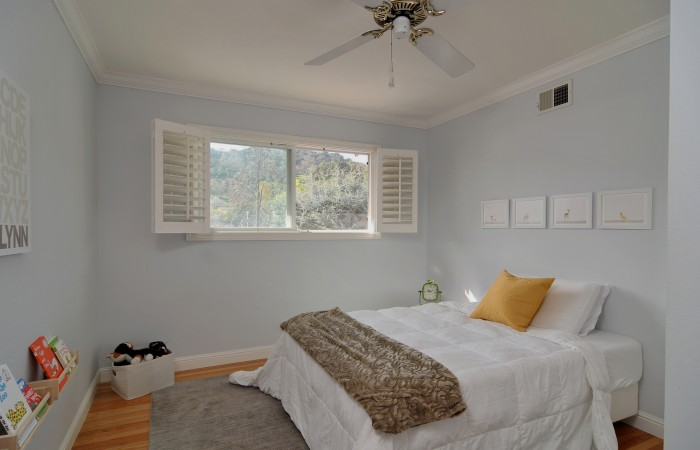 022 Bedroom 5 700x450 - Exquisitely remodeled home & yard for sale in Belwood - 127 Belhaven Drive