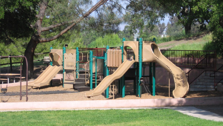 Playground at Belgatos Park