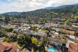Aerial photo of Belwood of Los Gatos