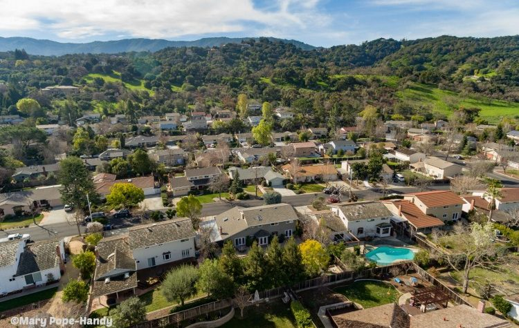 Aerial view - Belwood of Los Gatos